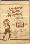 1930's Hallenstein's Guide to Better Scouting