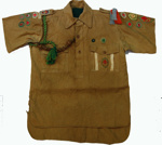 1934 Scout shirt from Napier South