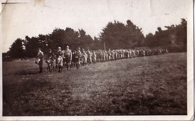 1918 Sydenham Scout Troop and Band