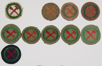 1907 Handyman proficiency badge