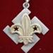 1917 Kelburn Scouts Thank You badge