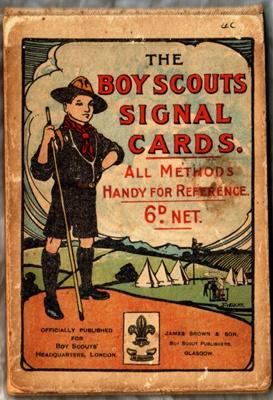 1910 Signaling cards