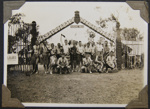 1935 New Zealand Scouts at the Frankston Jamboree campsite.
