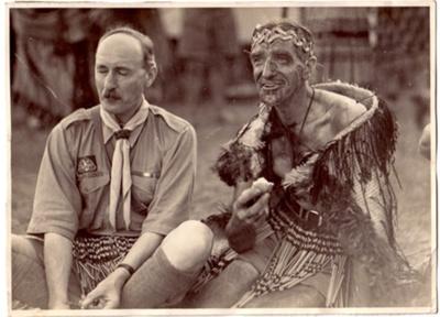 1939 Lord Hampton in NZ Jamboree camp