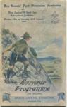 1926 - 1st Dominion Jamboree programme; 1926