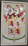 1958 Coleman painting of Baden-Powell's Coat of Arms; Fred Coleman; 1958