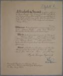 1954 Nancy Wilson's MBE certificate