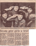 1986 Girls in Scouting Trial