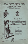 1929 Scouts' Annual Report