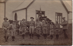 1909 Kaiapoi Scouts with Trek Cart