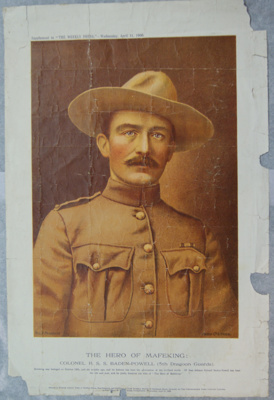 1900 Portrait of Baden-Powell as