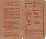 1909- Dominion Boy Scouts -Organisation for New Zealand
