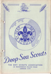 1950's Deep Sea Scouts booklet