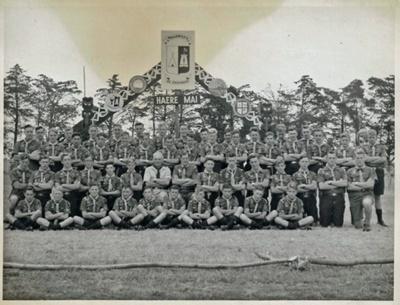 1954 Manawatu Scouts at the Canterbury Jamborette