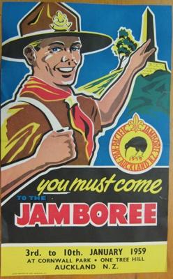 1959 Scout Jamboree; 1958