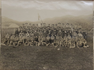 1910 Scouts at the Mirimar Rifle Range Opening