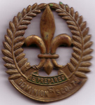 1910's Scoutmasters Hat Badge