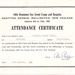 1965 10th Dominion Sea Scout Regatta certificate