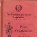 1919- Dominion Boy Scouts - Policy Organisation and Rules