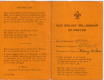 1948 Scouters' Fellowship of Prayer
