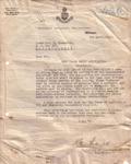 1919 Girl Peace Scout incorporation correspondence