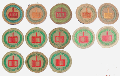 1907 Camp Cook proficiency badge