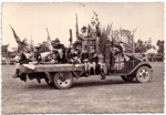 1930's Scout float in Masteron Parade