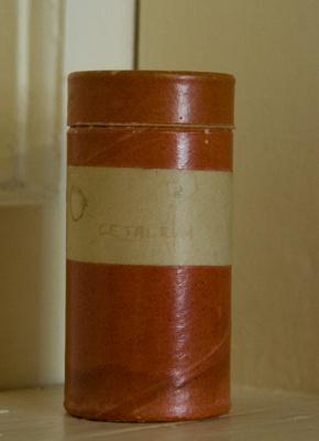 Container of spermaceti; XFH.245