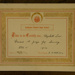 Certificate [Elizabeth Low]; Kaikoura District High School; 1914; XFH.482