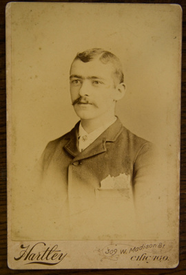 Carte de visite [Joseph Scott Soutar]; Hartley; XFH.479