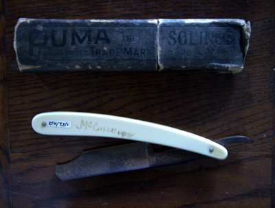 Cut-throat razor; Thomas R Cadman & Sons Ltd (estab. 1748, closed 1965); 1748-1965; XFH.73.1