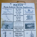 Poster, 'Hayes Farm Labour Saving Appliances'; Hayes Engineering Ltd (est 1885); XHE.287