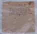 Recipe [Bacon and Egg Pie]; XHE.3867