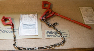 Portable wire strainer; Hayes Engineering Ltd (est 1885); XHE.442