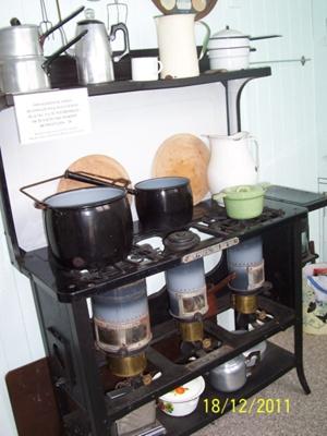 Kerosene stove; 43.2011