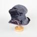 Hat, Purple Mohair; Unknown maker; 1950-1960; WY.0000.61