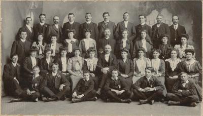 Photograph, Wyndham Presbyterian Church Choir, September 1906; Campbell, C.; 01.09.1906; WY.1996.63