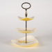 Cake Stand, Lemon Design ; Lancaster & Sandland Ltd; 1940-1950; WY.2006.14.2