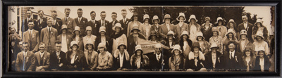 Photograph, Framed Edendale School Jubilee 1875-1931 No 4 Decade; Phillips, E.A; 1931; WY.0000.627