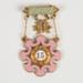Badge, Rebekah Lodge Sister Stewart; Unknown manufacturer; 1971; WY.2013.8.77