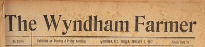 The Wyndham Farmer, 1947 Editions; 1947; WY.0000.594