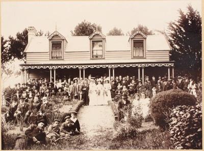 Photograph, Jane Beange's Wedding; Gerstenkorn, Karl Andreas; 1902; WY.1995.13