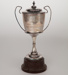 Trophy, Top Not Cup for Runner Up Open Darts; Unknown manufacturer; 1974; WY.2008.19.4