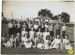 Photograph of school children taken outside in an unknown place.; Unknown; 1940-39; WY.1995.74.1