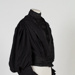 Bodice, Black Wool and Silk; Unknown maker; 1890-1900; WY.1996.46.3