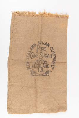 Bag, New Zealand Sugar Company; New Zealand Sugar Company; 1920-1930; WY.1990.177