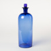 Bottle, Large Blue with Stopper; Unknown manufacturer; 1910-1920; WY.0000.372