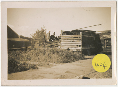 Photograph, Blacksmith Building Redan Street; Unknown photographer; Unknown; WY.0000.102