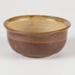 Bowl, Brown Ceramic; Shields, Heather; 1970-1980; WY.2006.32.3