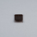Hair Comb, Small Flexible Plastic; Unknown maker; 1970-1980; WY.0000.166